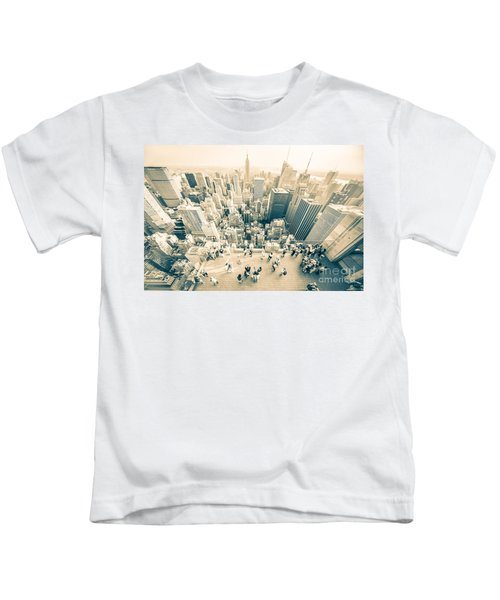 Bleached Manhattan Kids T-Shirt