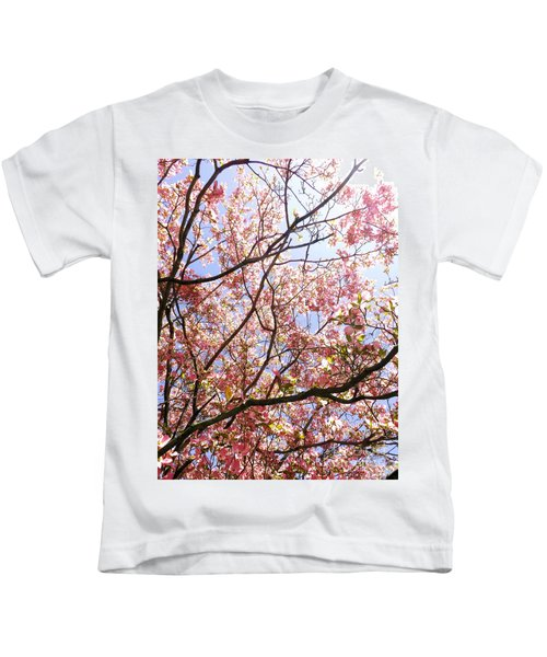 Blossoming Pink Kids T-Shirt