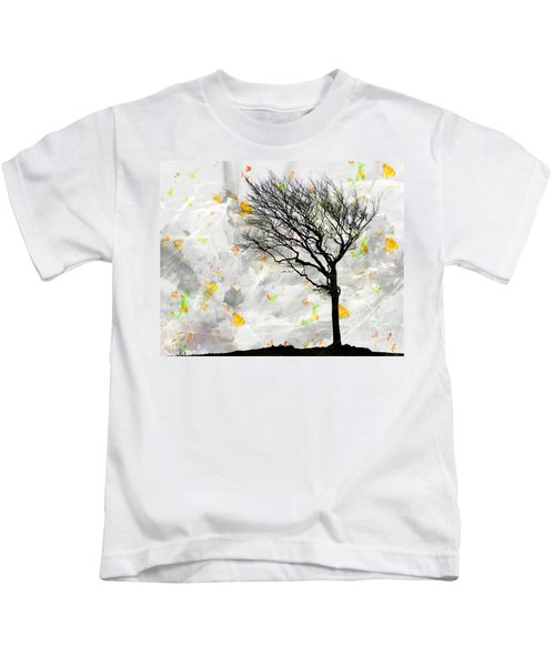 Blowing It The Wind Kids T-Shirt