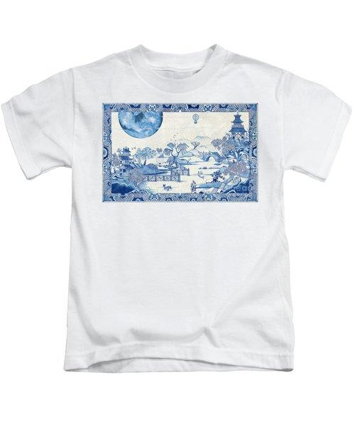 Blue Moon Crazed Kids T-Shirt