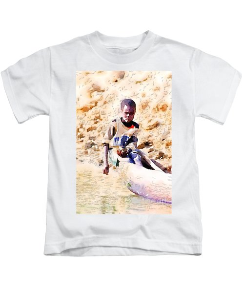 Boy In The Boat Kids T-Shirt