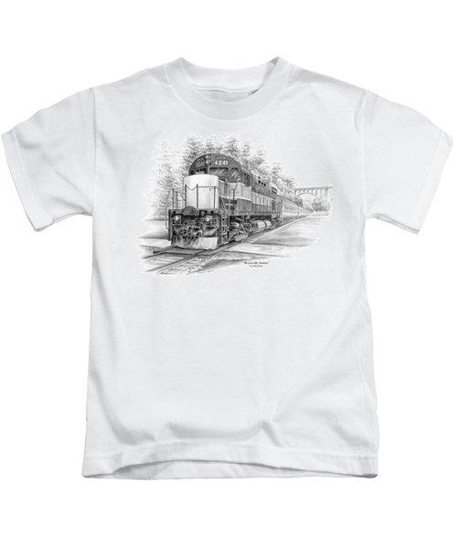 Brecksville Station - Cuyahoga Valley National Park Kids T-Shirt
