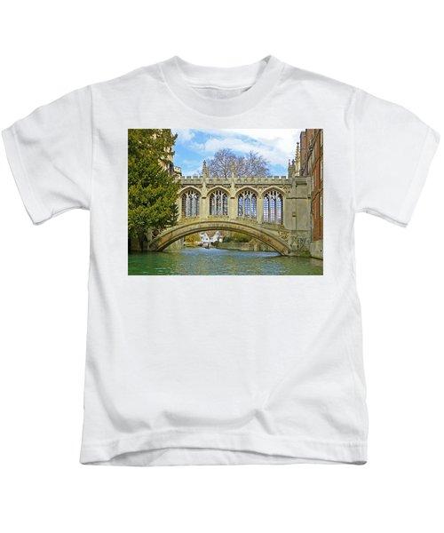 Bridge Of Sighs Cambridge Kids T-Shirt
