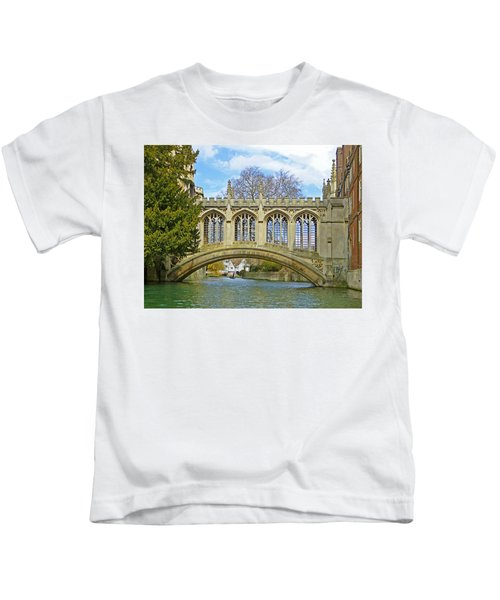Bridge Of Sighs Cambridge Kids T-Shirt