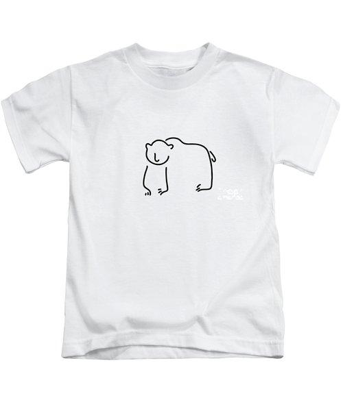 Brown Bear Black Bear Kids T-Shirt