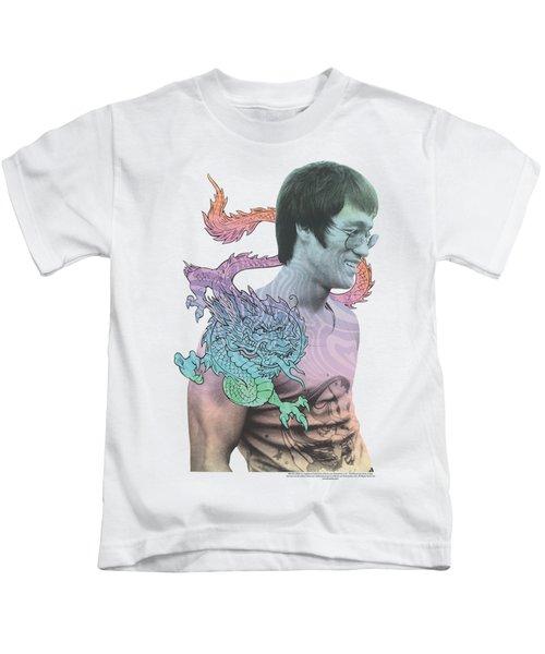 Bruce Lee - A Little Bruce Kids T-Shirt by Brand A