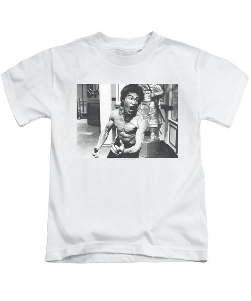 Bruce Lee - Full Of Fury Kids T-Shirt