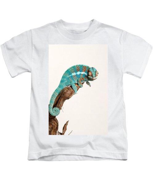 B.summers Panther Chameleon Kids T-Shirt