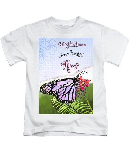 Butterfly Kisses Kids T-Shirt