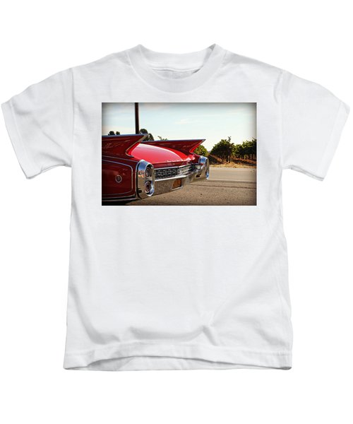 Cadillac In Wine Country  Kids T-Shirt