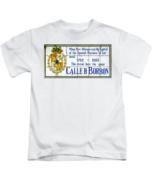 Calle D Borbon Kids T-Shirt