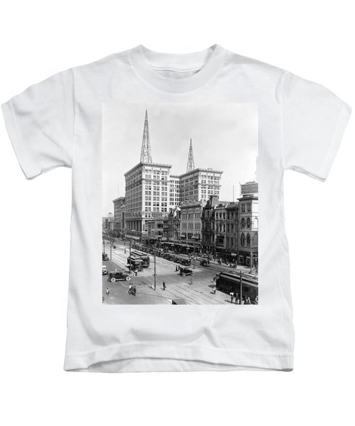 Canal Street In New Orleans Kids T-Shirt