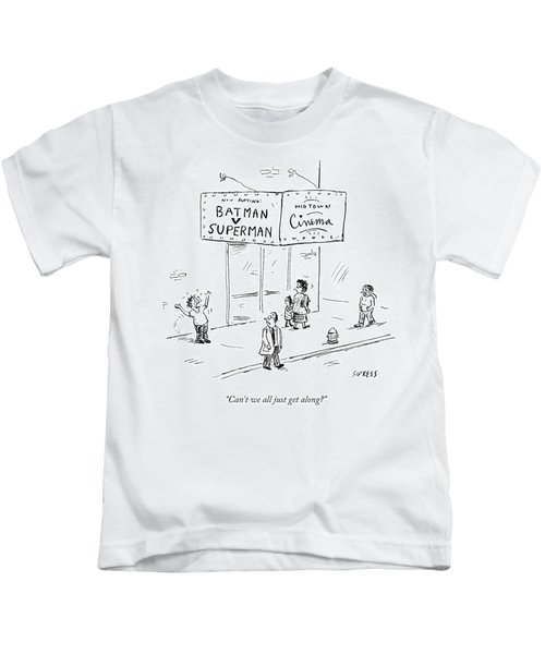 Can't We All Just Get Kids T-Shirt