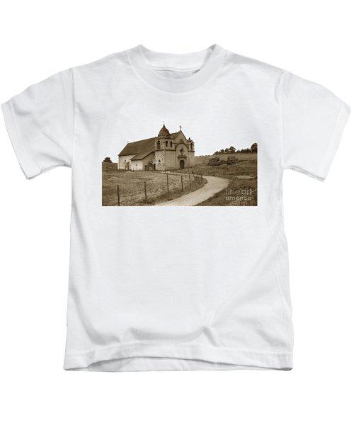 Carmel Mission Monterey Co. California Circa 1890 Kids T-Shirt