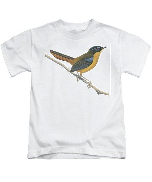 Chat Thrush  Kids T-Shirt