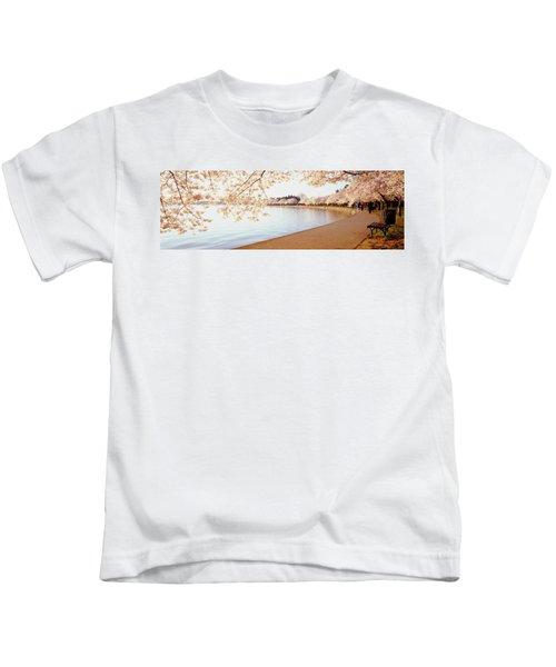 Cherry Blossoms, Washington Dc Kids T-Shirt