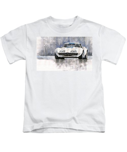 Chevrolet Corvette C3 Kids T-Shirt