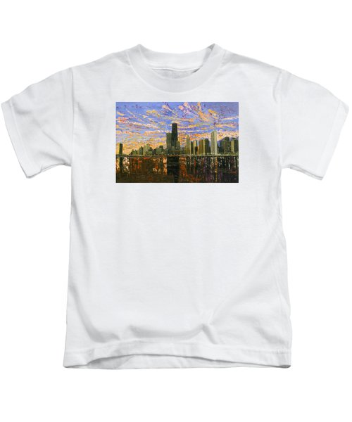 Chicago Kids T-Shirt by Mike Rabe
