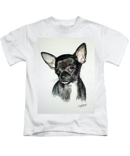 Chihuahua Black 2 Kids T-Shirt