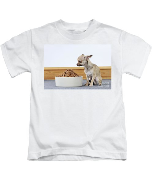 Chihuahua With Food Kids T-Shirt