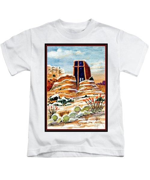 Christmas In Sedona Kids T-Shirt