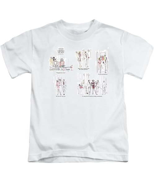 Christmas Off Fifth Kids T-Shirt
