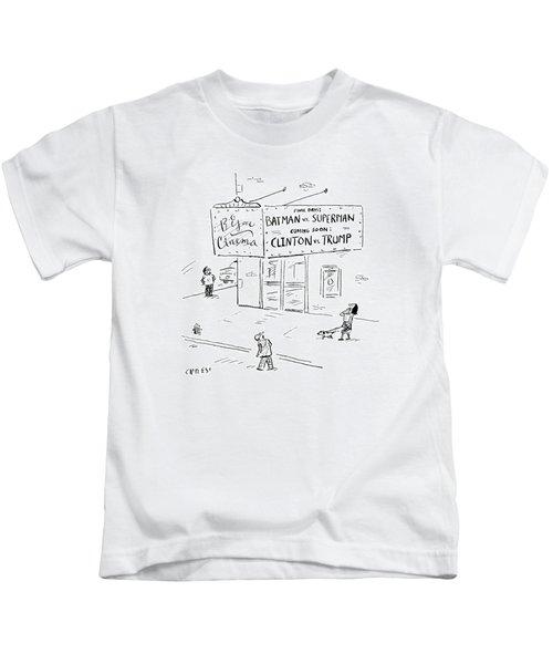 Clinton Vs Trump Kids T-Shirt