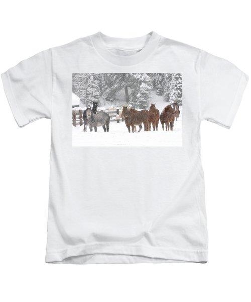 Cold Ponnies Kids T-Shirt