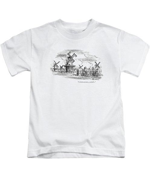 Collaborationists Kids T-Shirt
