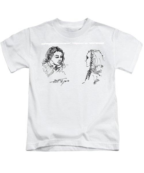 College Girls Kids T-Shirt