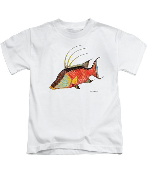 Colorful Hogfish Kids T-Shirt