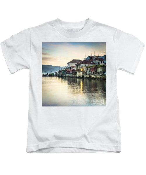 Combarro Pontevedra Galicia Spain Kids T-Shirt