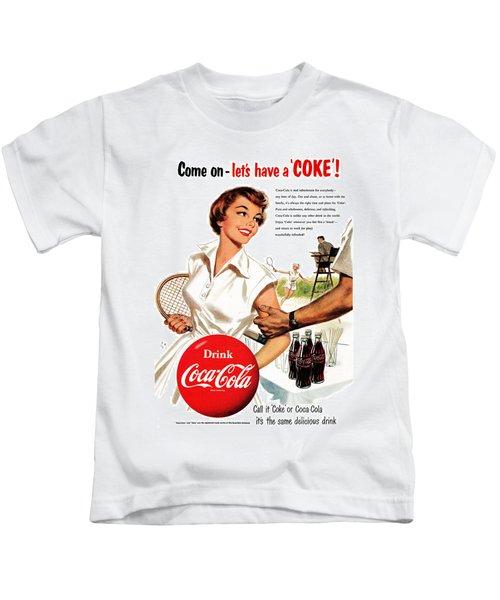 Come Let's Have A Coke Kids T-Shirt