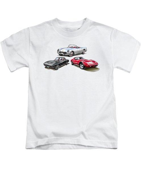 Corvette Generation Kids T-Shirt