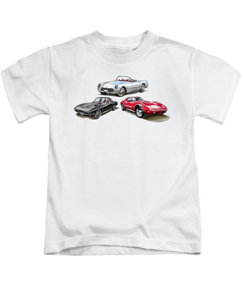 Corvette Generation Kids T-Shirt
