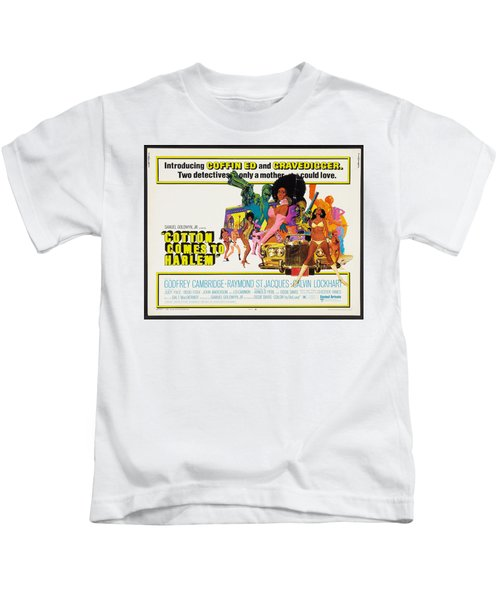 Cotton Comes To Harlem Poster Kids T-Shirt by Gianfranco Weiss
