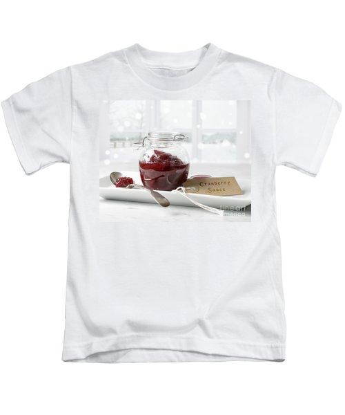 Cranberry Sauce Kids T-Shirt