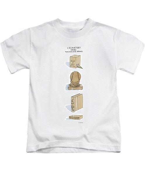 Crematory Urns Personalized - Bronze Block O' Bev Kids T-Shirt