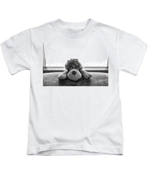 Curious Leo Kids T-Shirt