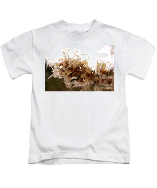 Curlleaf Mountain Mahogany Kids T-Shirt