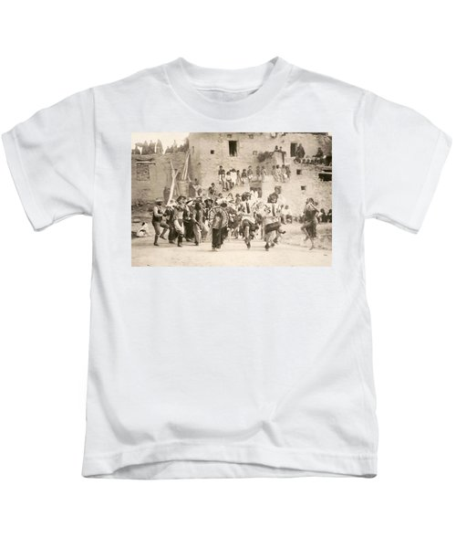 Curtis Buffalo Dance Kids T-Shirt