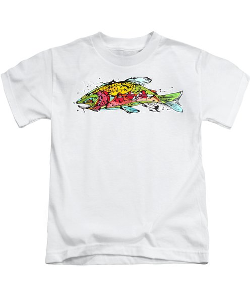Cutthroat Trout Kids T-Shirt