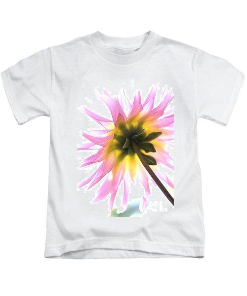 Dahlia Flower Kids T-Shirt