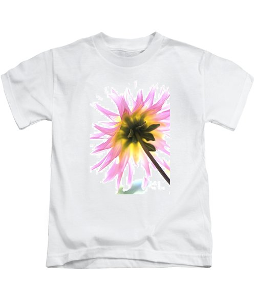 Dahlia Flower Kids T-Shirt