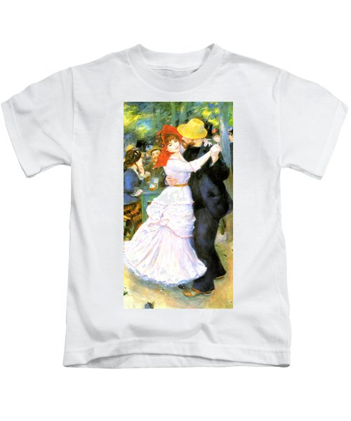 Dance At Bougival Kids T-Shirt