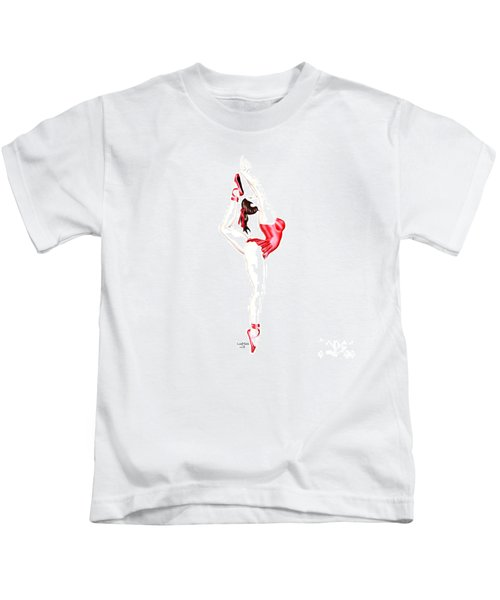Dancer Kids T-Shirt by Renate Janssen