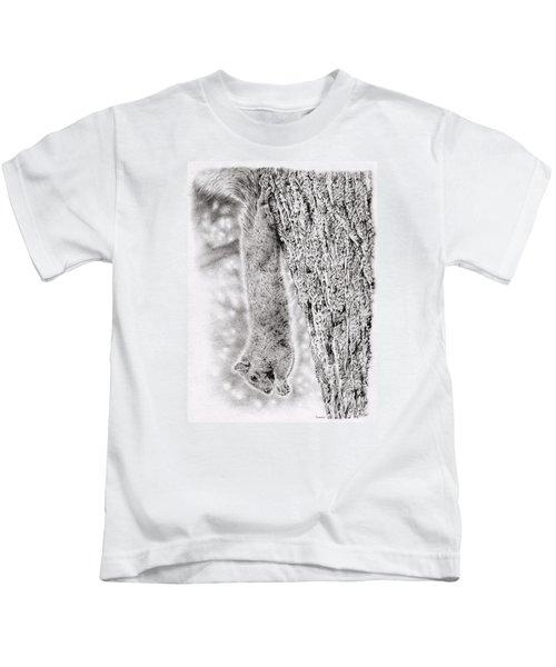 Dangling Squirrel Kids T-Shirt