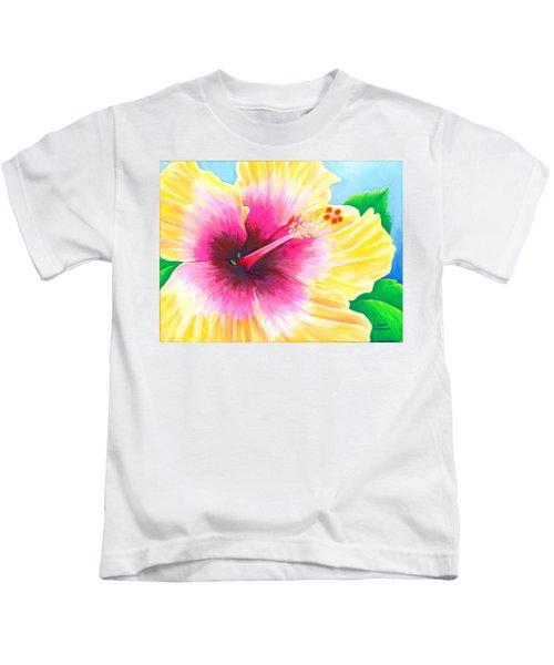 Dan's Hibiscus Kids T-Shirt