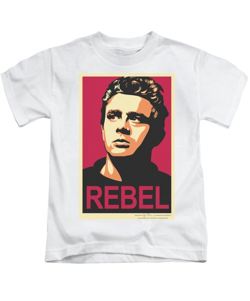Dean - Rebel Campaign Kids T-Shirt by Brand A