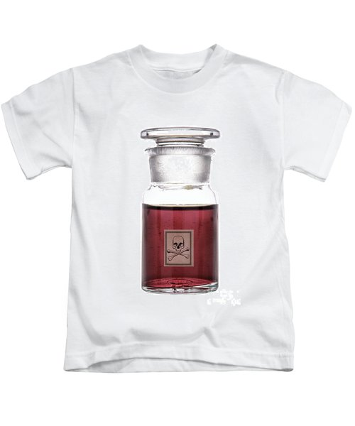 Death In A Bottle Kids T-Shirt